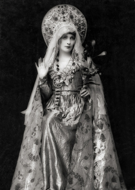 E.O. Hoppé, Lady Lavery, 1916