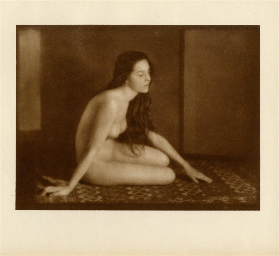 Emil Otto Hoppé-Nude Gypsy from Romania. sepia-toned photogravure. 1920s