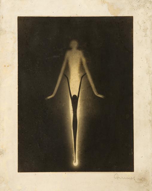 František Drtikol - compostion (Paper cut-out). 1932