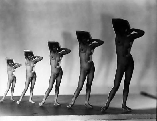 František Drtikol -Five Times, Five Sizes (Cut out)], ,1930