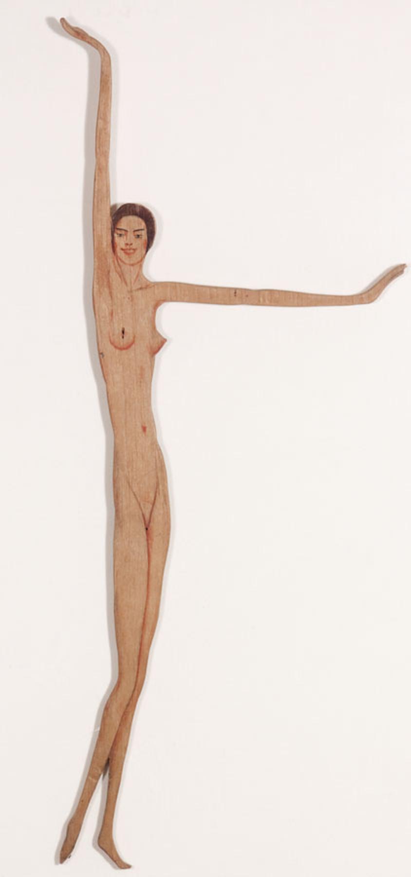 František Drtikol -(Nude with Arms Raised) ,Nd