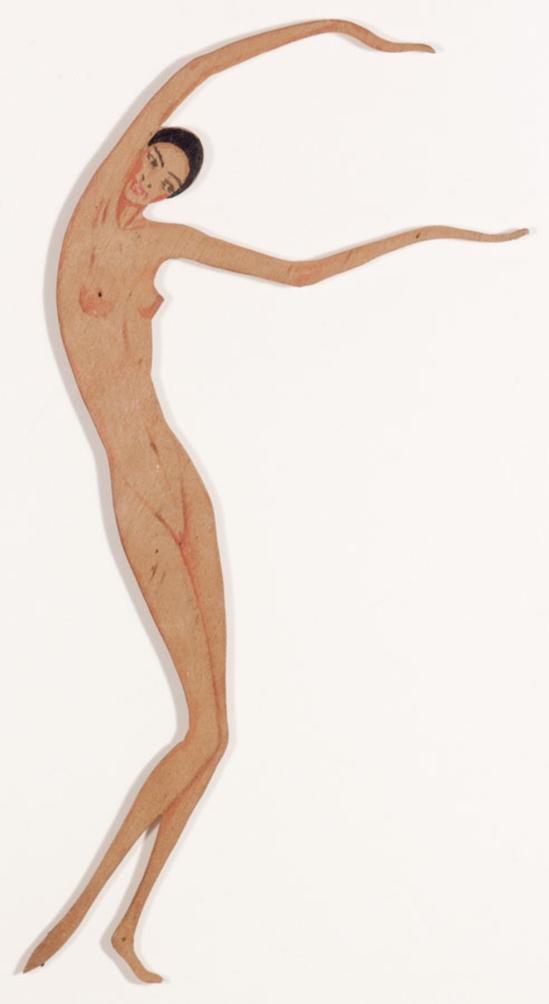 František Drtikol -Untitled (Dancing Nude) , nd