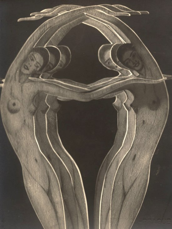 František Drtikol - Girls , Paper cut-out, 1932