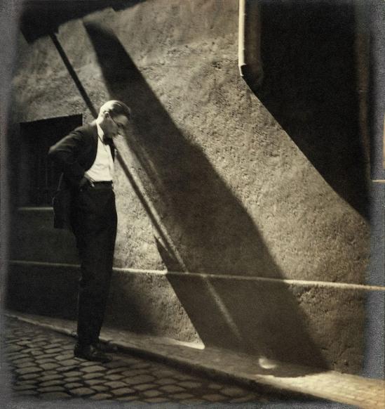 Jaromír Funkeir , Prague, 1928 by Josef Sudek