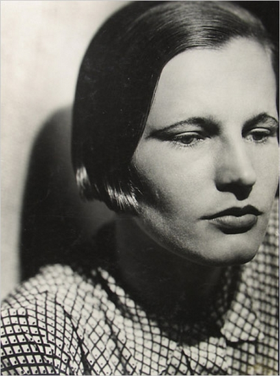 Jaromir Funke  Portrait of a Woman with a bob , 1930