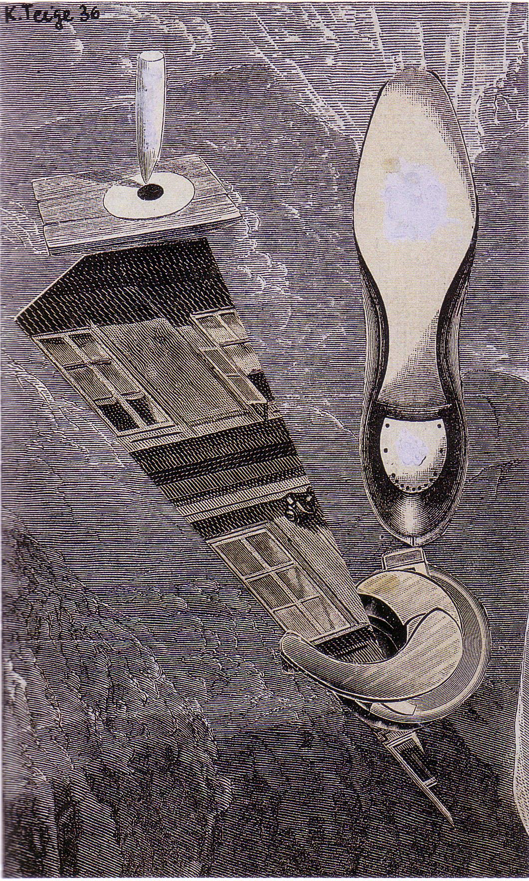 Karel Teige - Collage# 06, 1936 (c) Nachlass Karel Teige