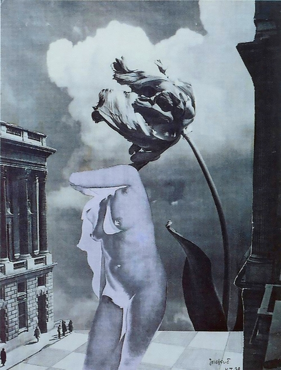 Karel Teige- Collage# 115,1939 (c) Nachlass Karel Teige