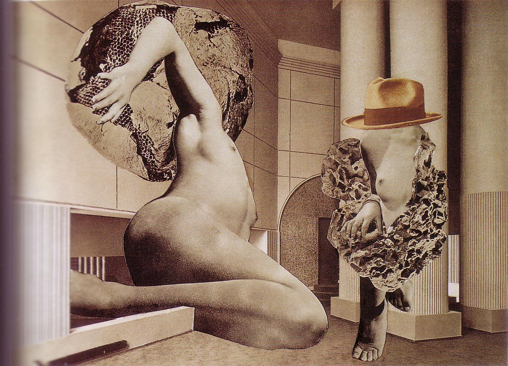 Karel Teige- Collage#141, 1940.