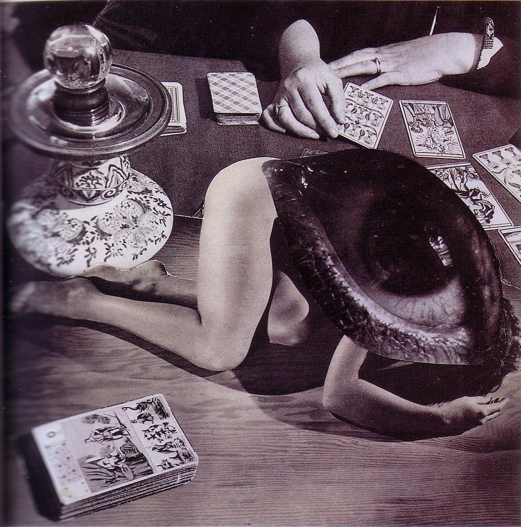 Karel Teige Collage# 145 , 1940 à partir d'une photo de george platt lynes (c) Nachlass Karel Teige