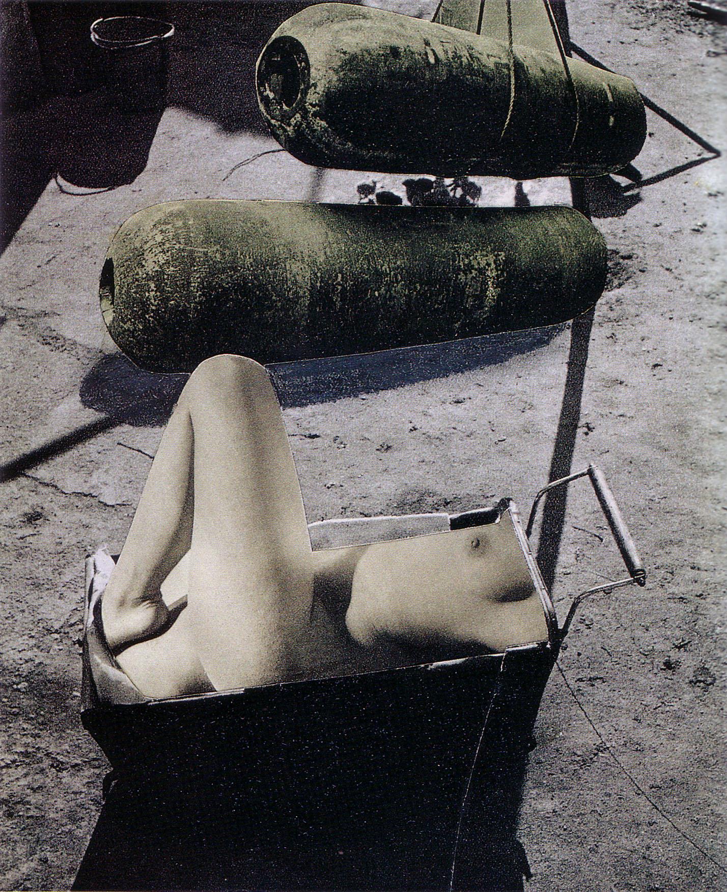 Karel Teige- Collage 163, 1940.