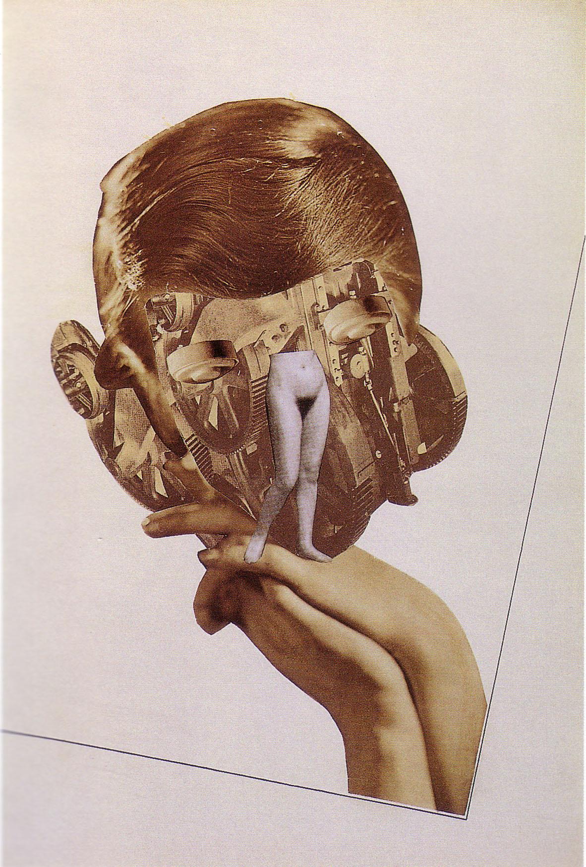 Karel Teige-Collage, # 184a ,1939