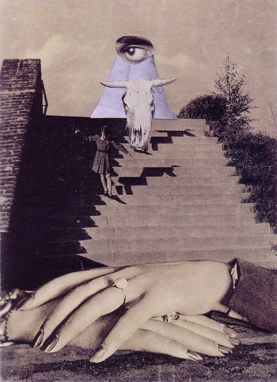 Karel Teige- Collage #190, 1941.(c) Nachlass Karel Teige