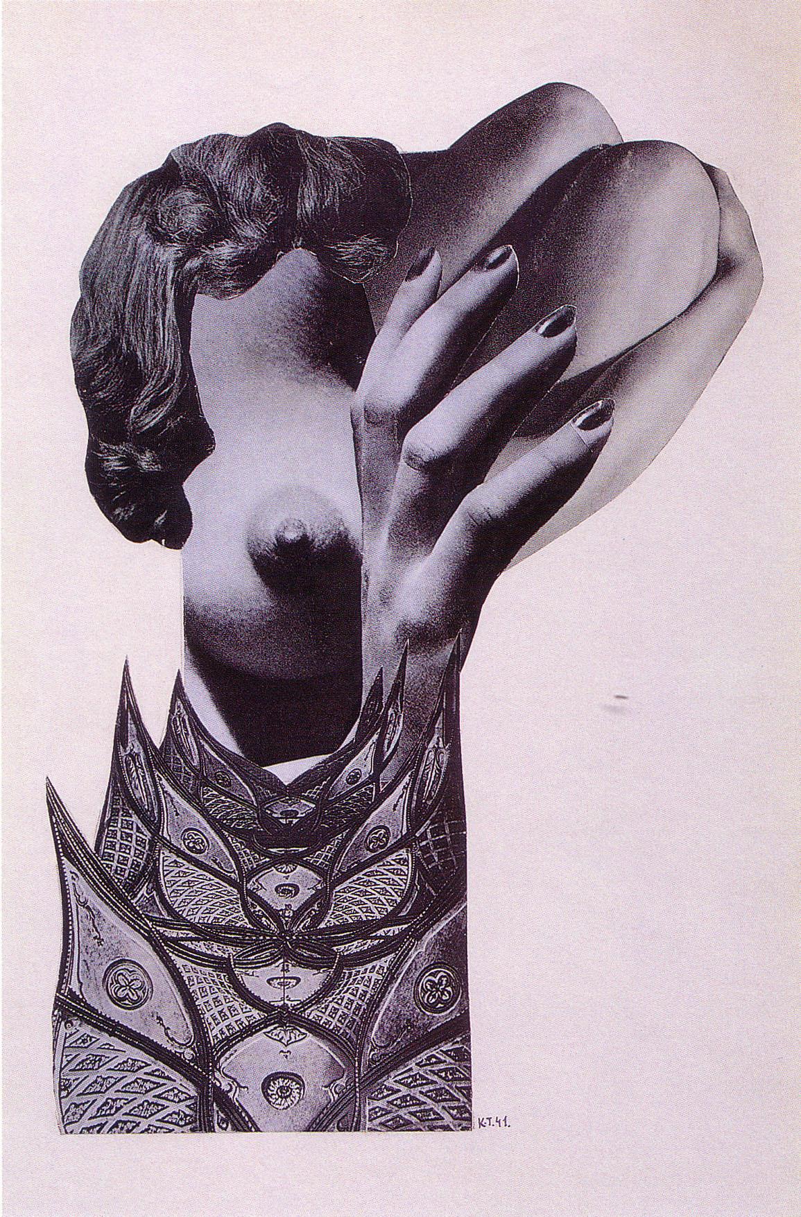 Karel Teige- Collage# 191, 1941