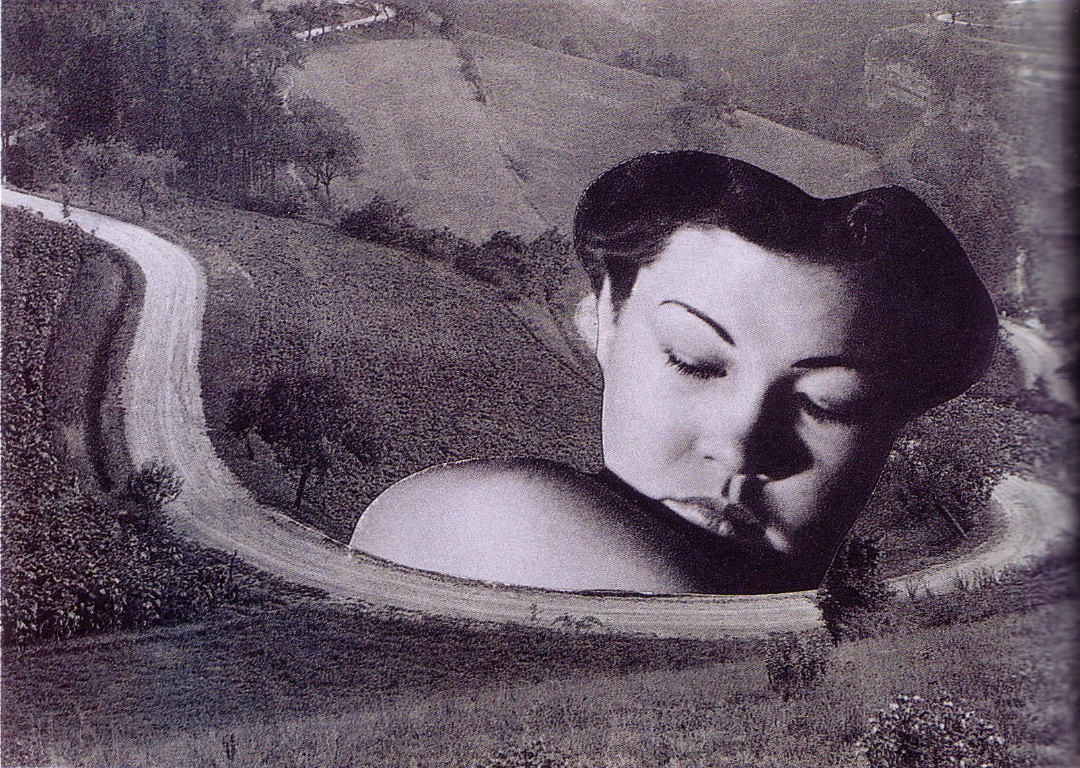 Karel Teige - Collage# 198 ,1941 (c) Nachlass Karel Teige