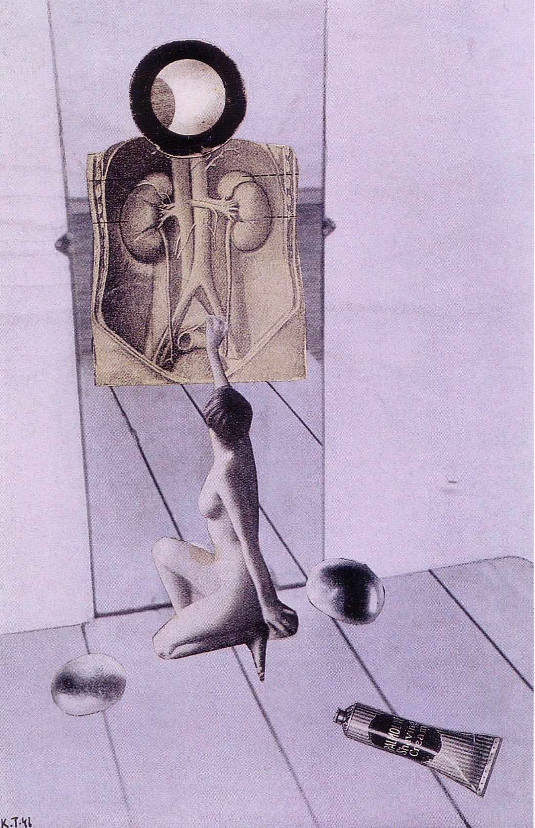 Karel Teige-Collage# 208 , 1941