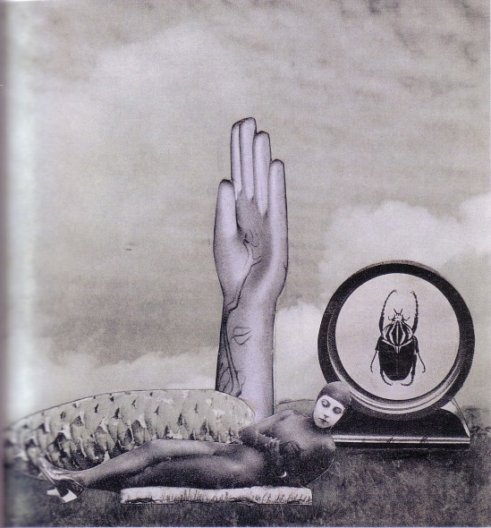 Karel Teige - Collage# 225 ,1942(c) Nachlass Karel Teige