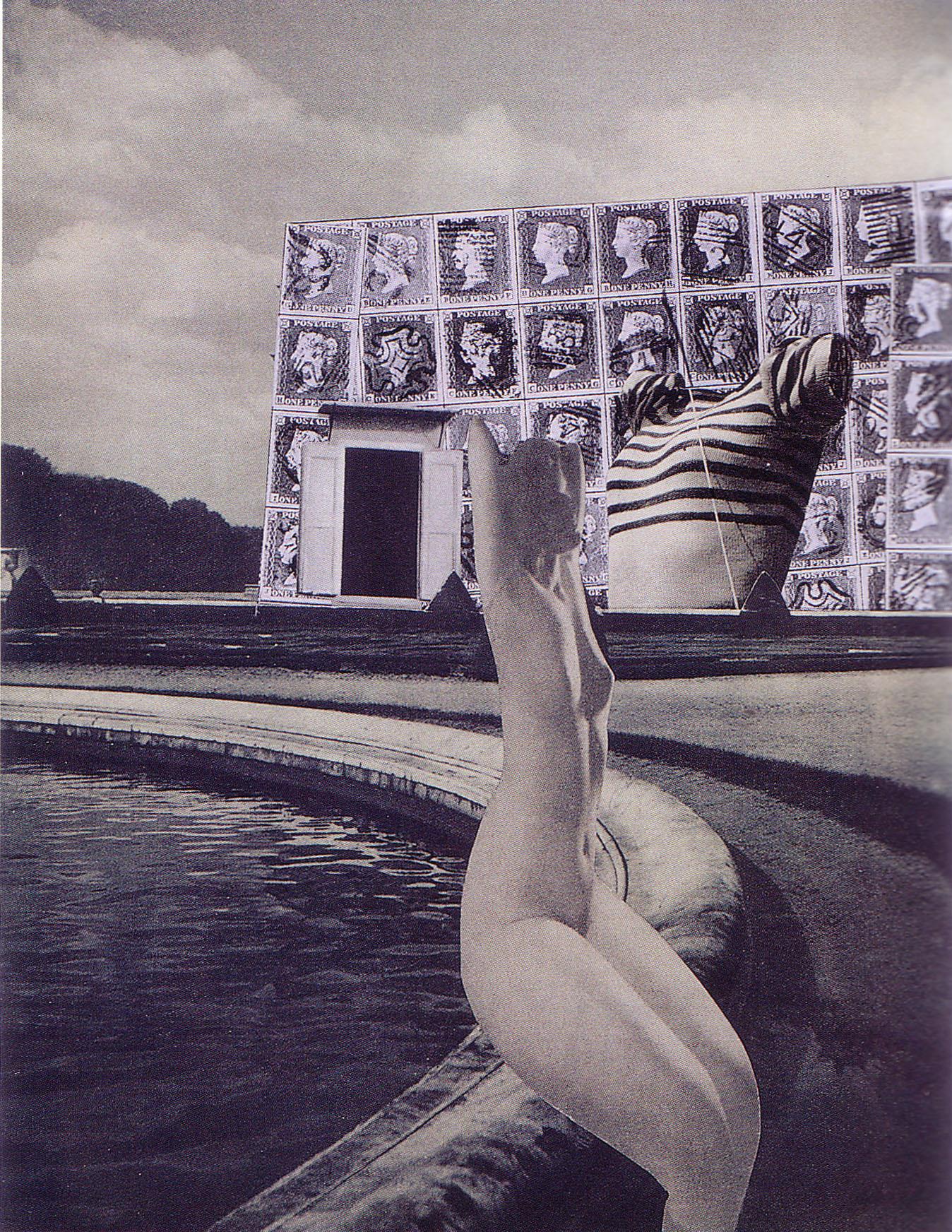 Karel Teige-Collage # 226, 1942 (c) Nachlass Karel Teige