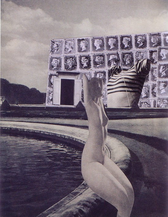 Karel Teige-Collage # 226, 1942 (c) Nachlass Karel Teige