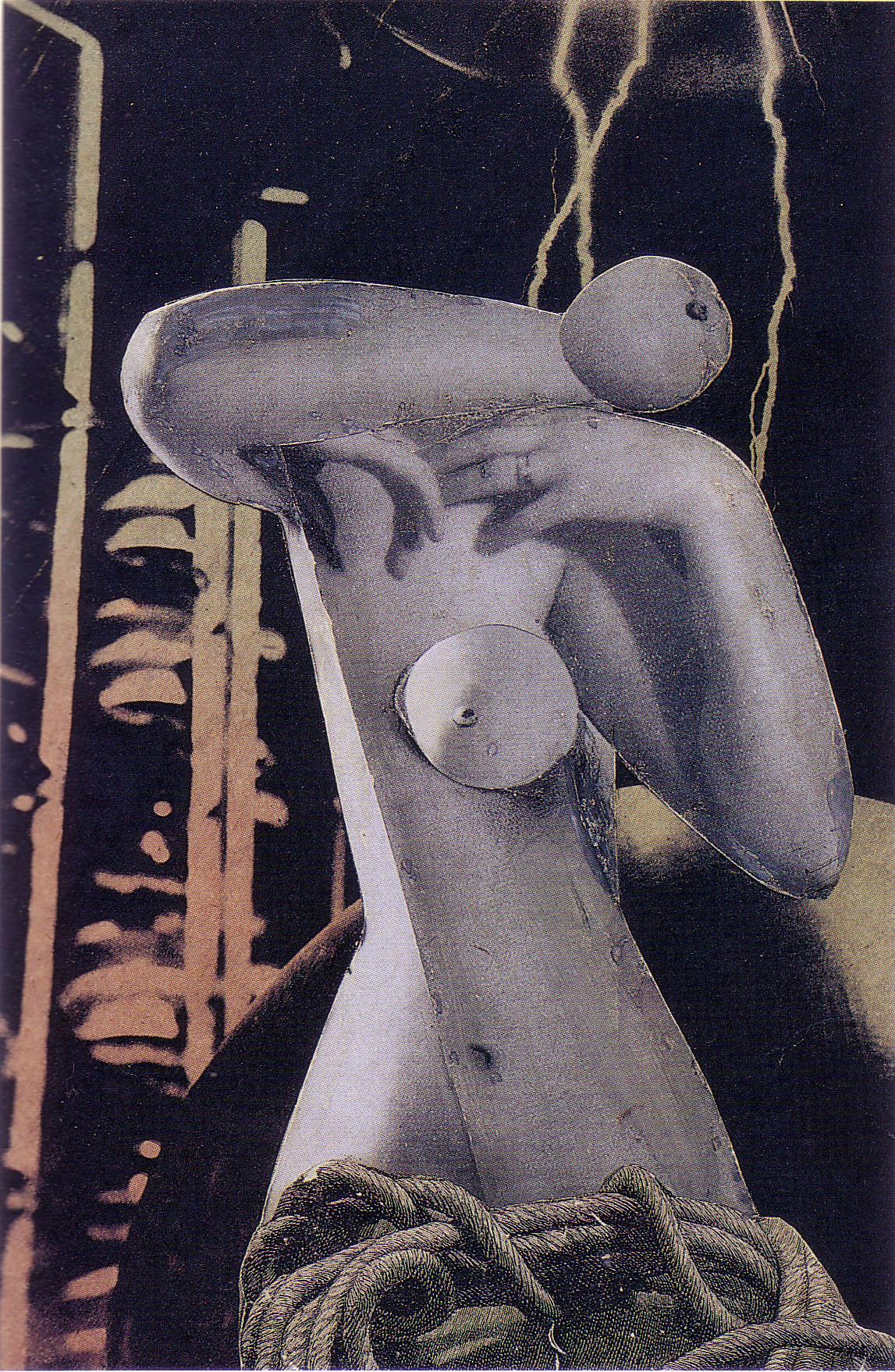 Karel Teige - Collage# 23, 1936 (c) Nachlass Karel Teige