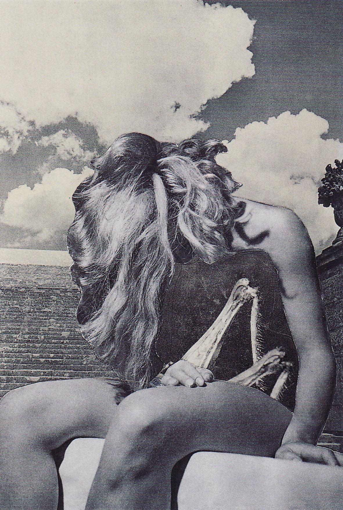 Karel Teige-Collage #247, 1942 . (c) Nachlass Karel Teige