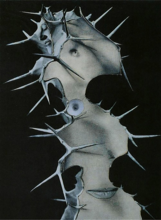 Karel Teige -Collage #248,1942 . (c) Nachlass Karel Teige
