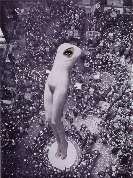 Karel Teige- Collage #25, 1936