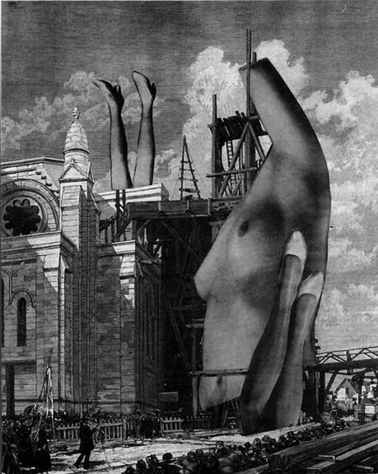 Karel Teige, Collage #26, 1936 . (c) Nachlass Karel Teige