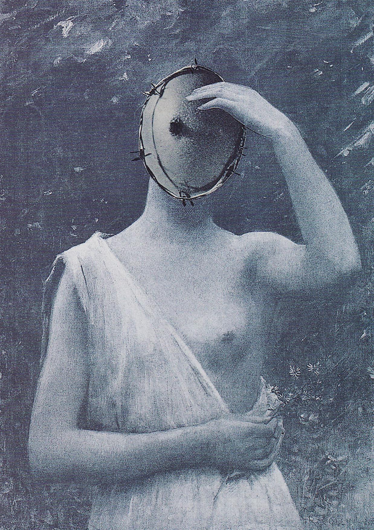 Karel Teige- Collage #262, 1942.