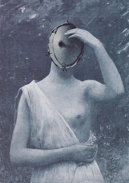 Karel Teige- Collage #262, 1942.