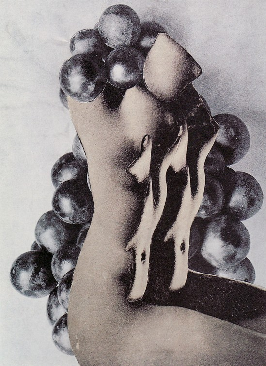 Karel Teige- Collage # 271, 1943 (c) Nachlass Karel Teige