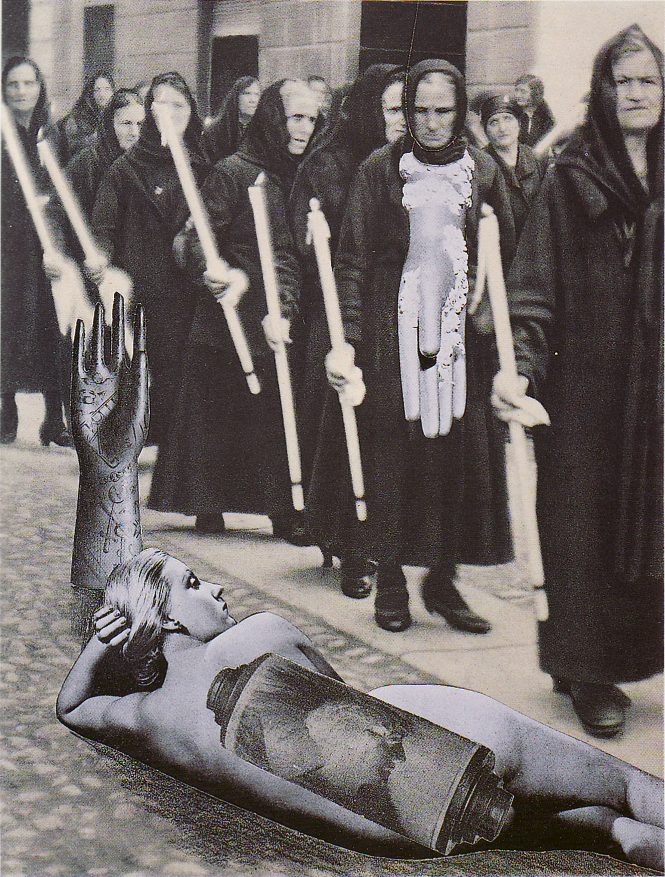 Karel Teige-Collage# 288, 1943. (c) Nachlass Karel Teige