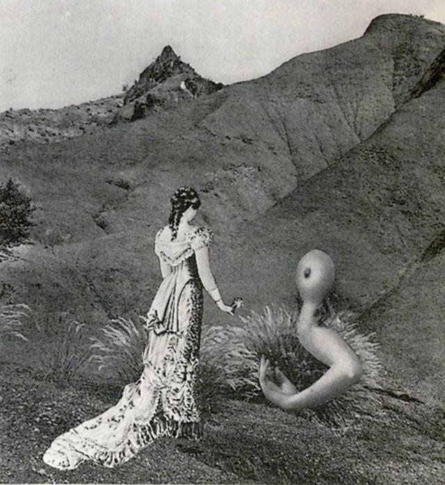 Karel Teige - Collage #290, 1943 (c) Nachlass Karel Teige