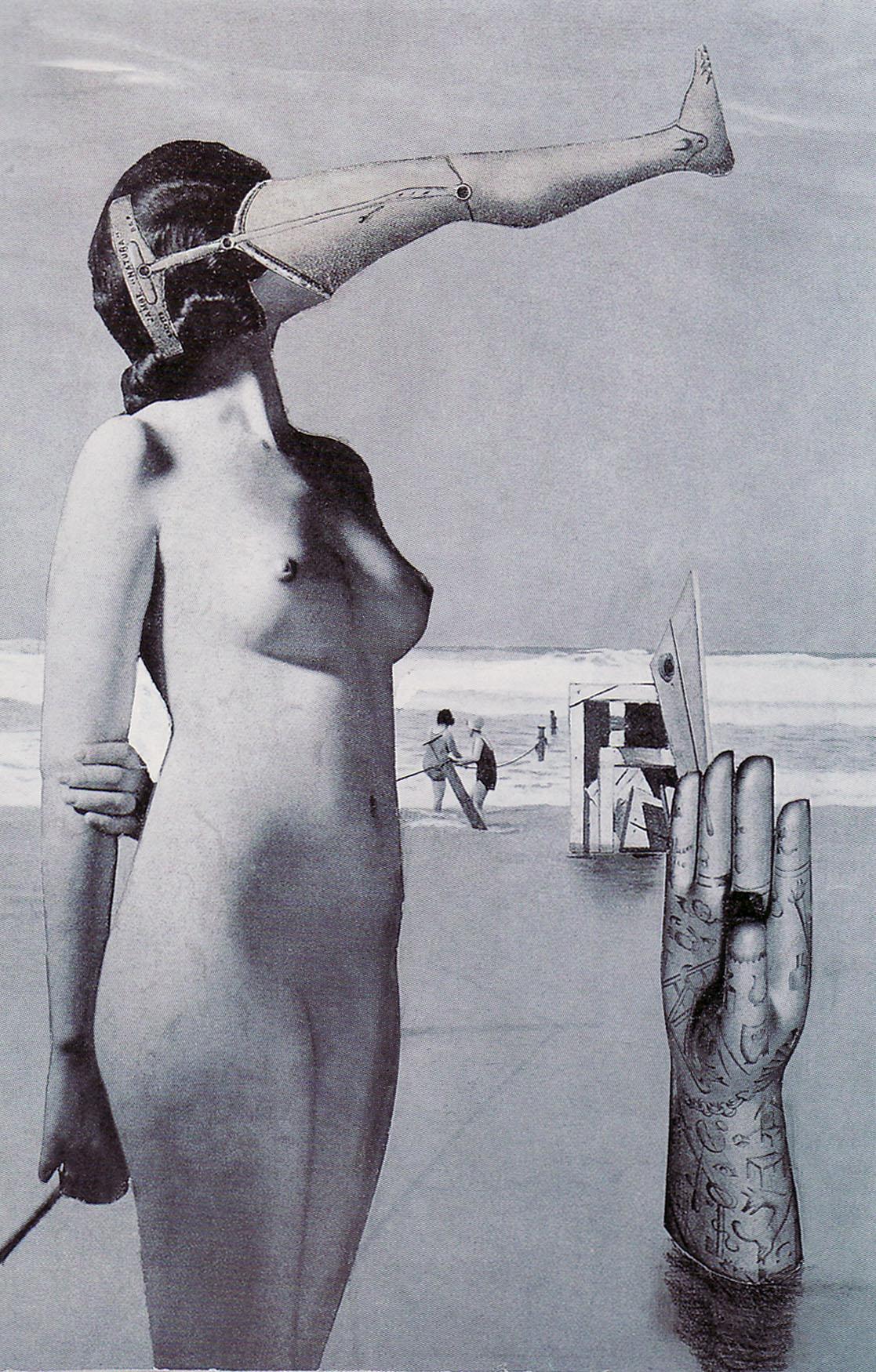 Karel Teige - Collage #293, 1944 . (c) Nachlass Karel Teige