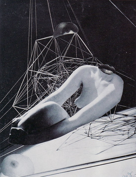 Karel Teige,- Collage# 299, 1944. (c) Nachlass Karel Teige