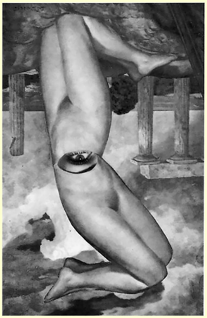 Karel Teige-Collage# 303 , 1945 (c) Nachlass Karel Teige