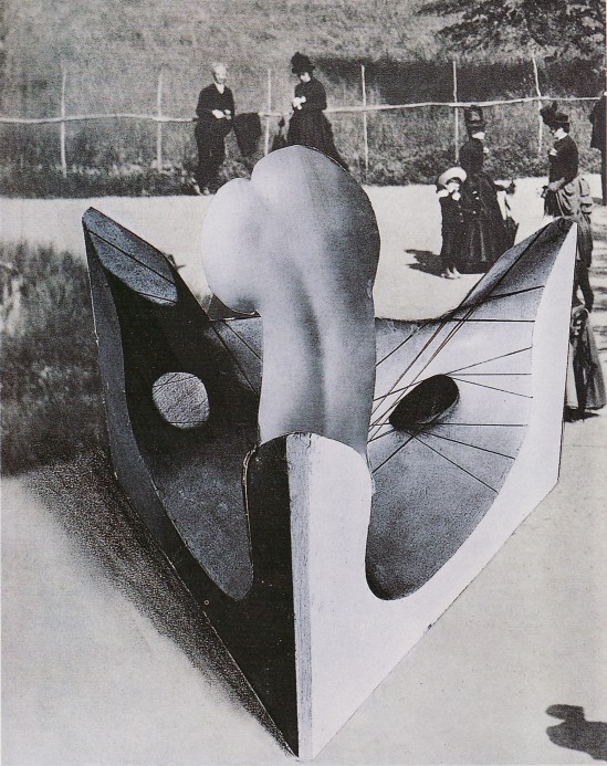 Karel Teige- Collage# 306, 1945. (c) Nachlass Karel Teige