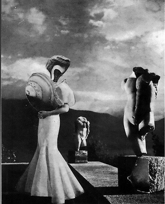Karel Teige- Collage #31,1937 (c) Nachlass Karel Teige