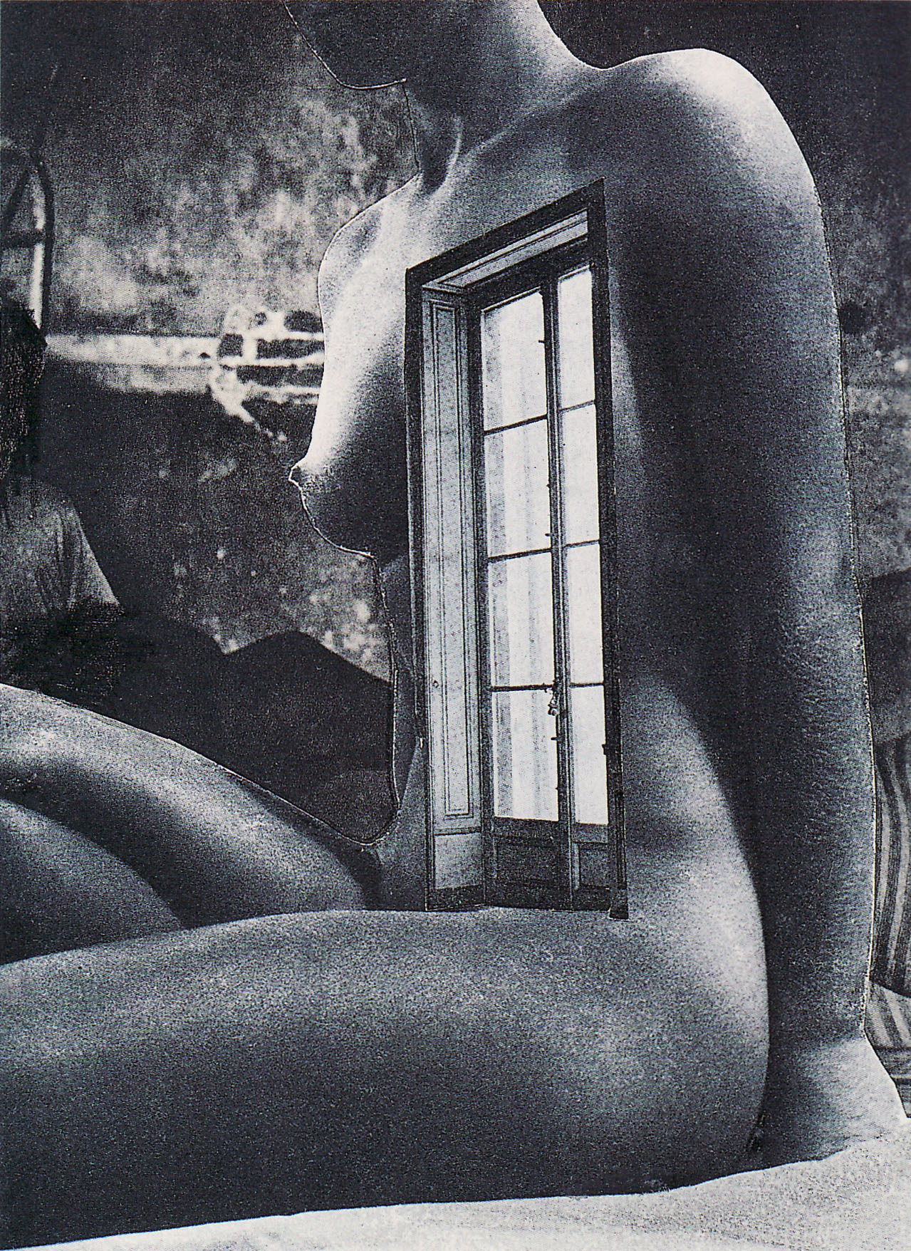 Karel Teige- Collage # 323, 1946(c) Nachlass Karel Teige