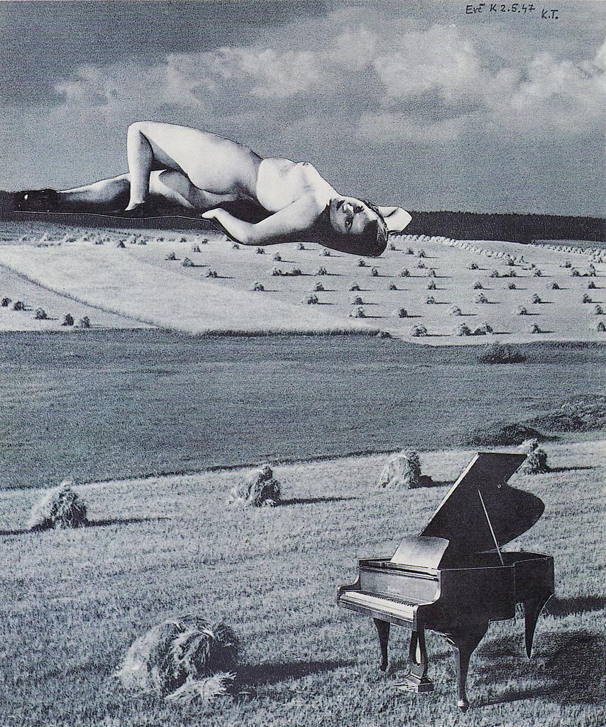 Karel Teige - Collage #336, 1947
