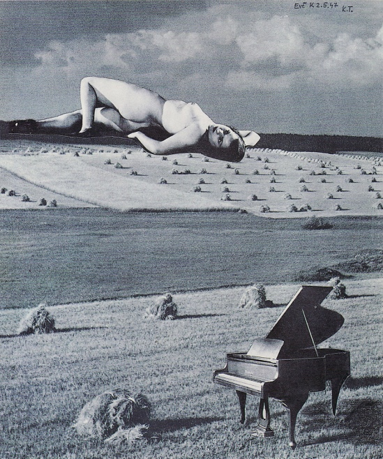 Karel Teige - Collage #336, 1947