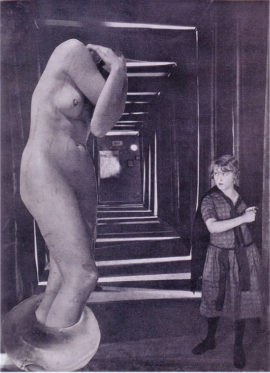 Karel Teige Collage# 34, 1937 (c) Nachlass Karel Teige
