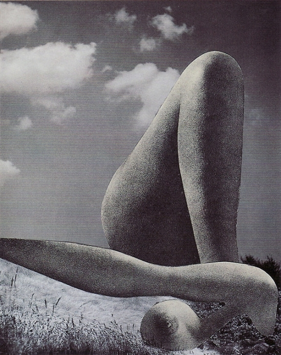 Karel Teige- collage # 344, 1948