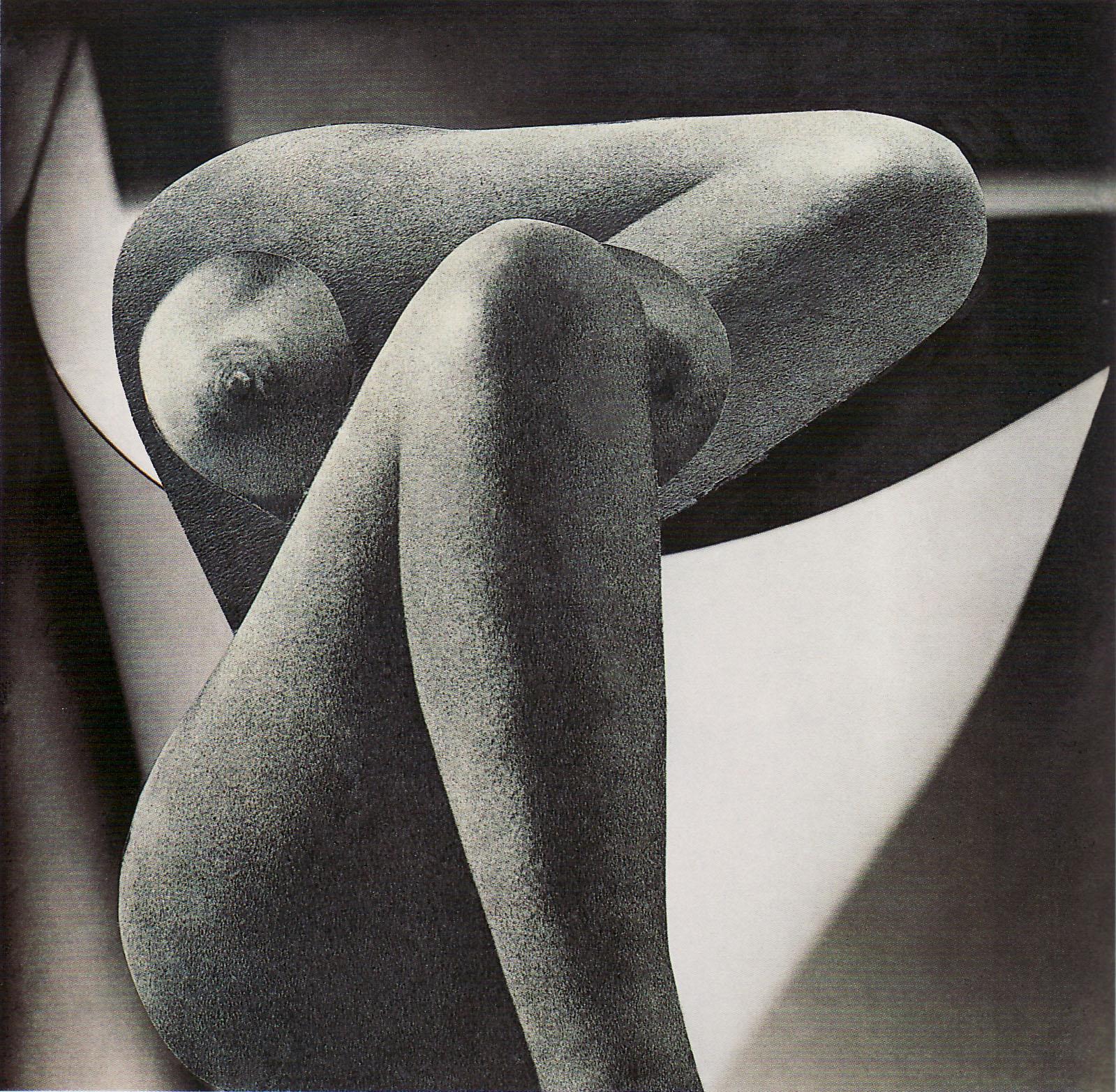 Karel Teige- Collage #347, 1948. (c) Nachlass Karel Teige