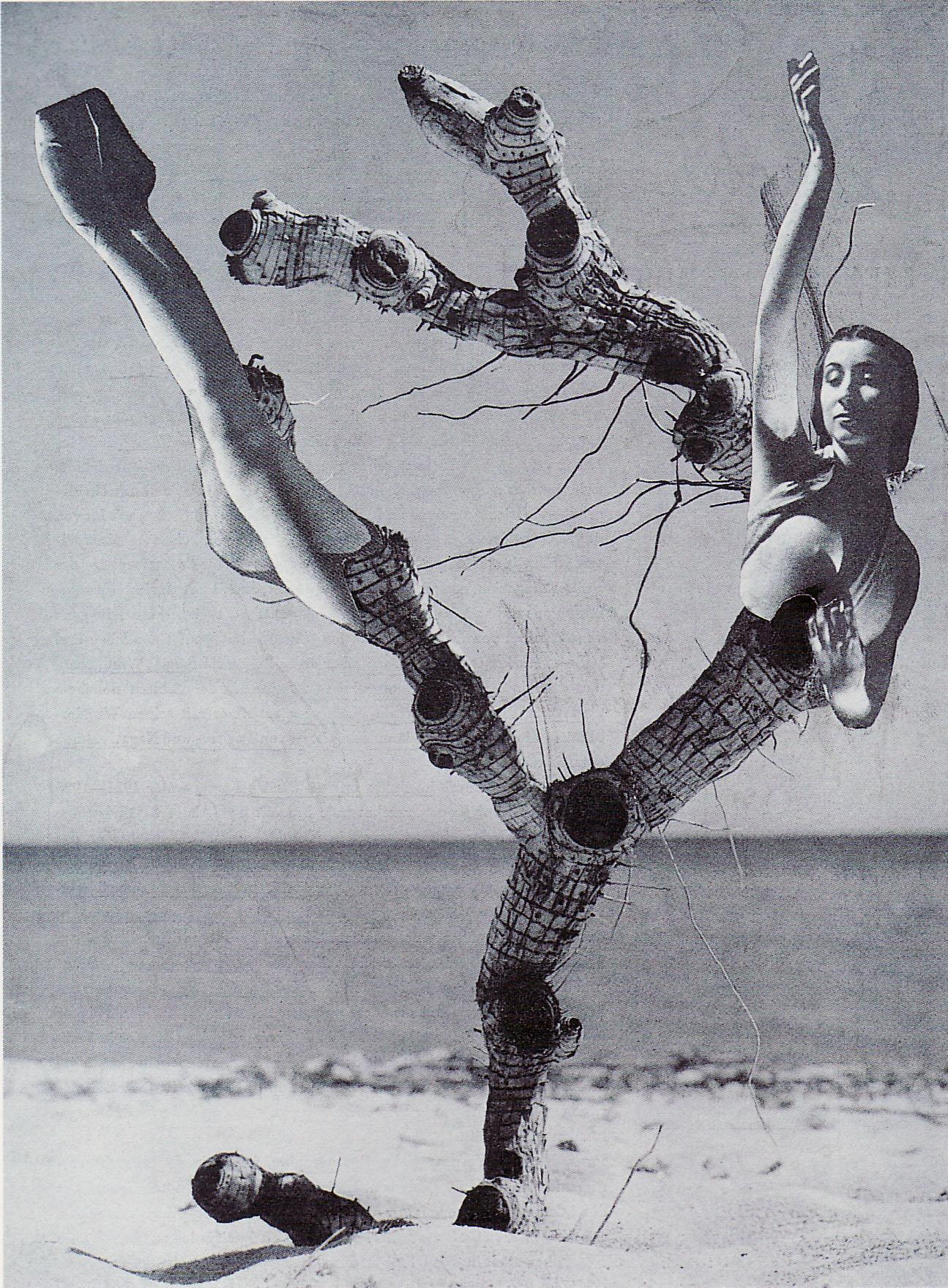 Karel Teige, collage 353, 1948.(c) Nachlass Karel Teige