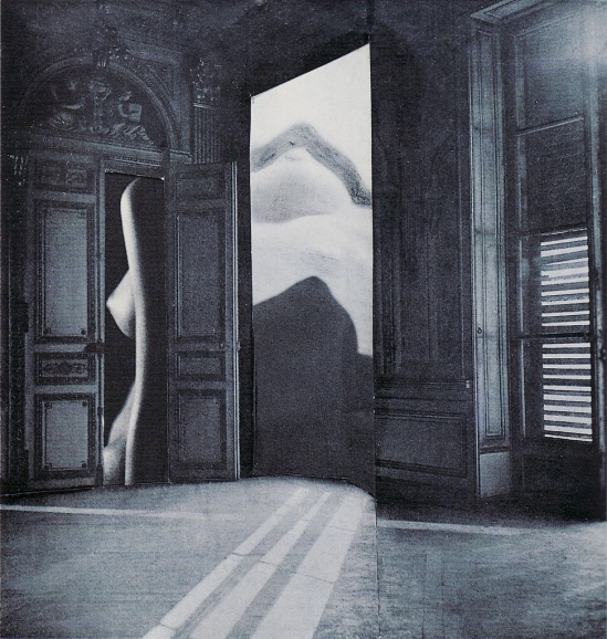 Karel Teige Collage #357, 1948(c) Nachlass Karel Teige