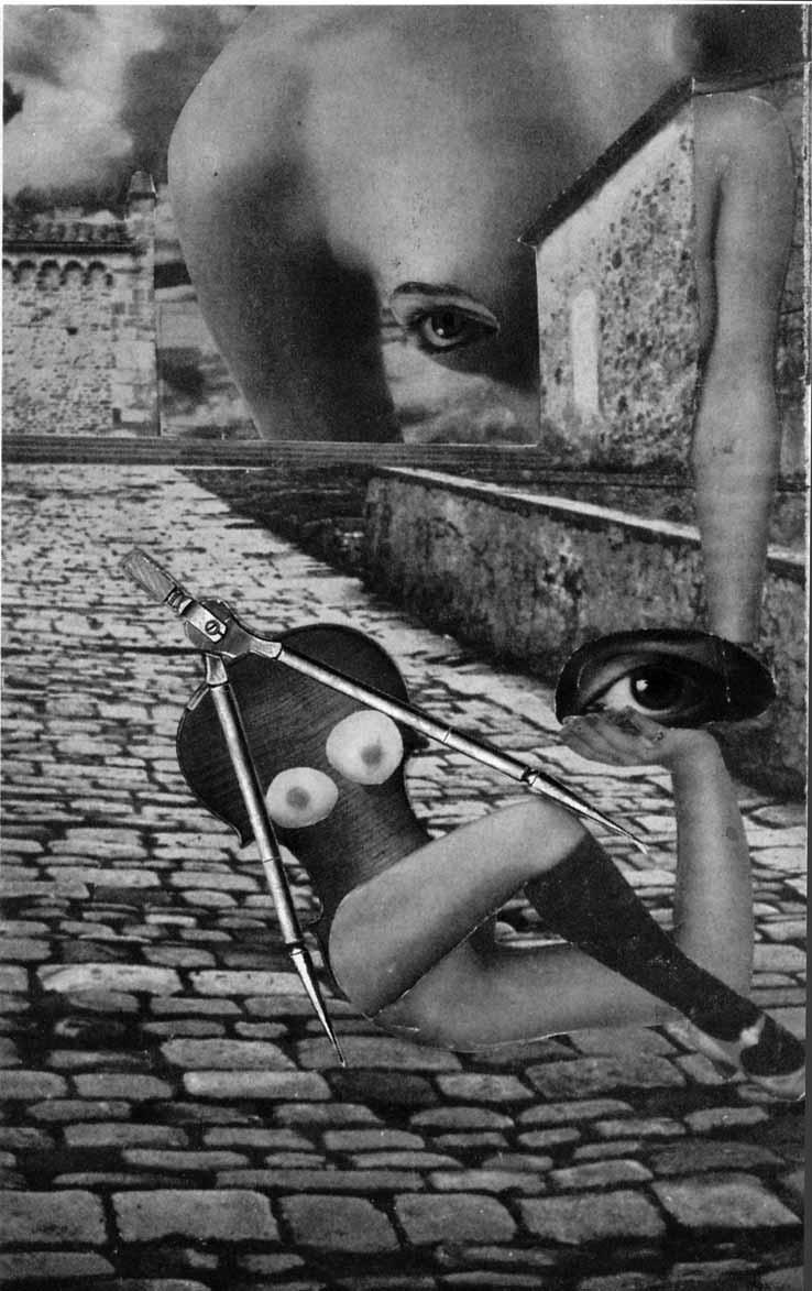 Karel Teige Collage# 36 1937 (c) Nachlass Karel Teige