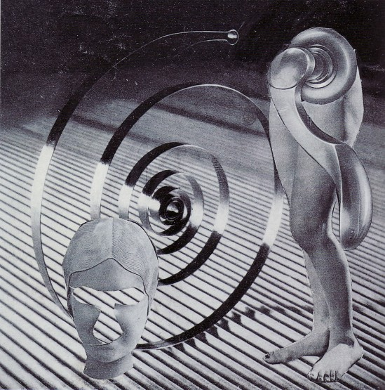 Karel Teige, collage 361, 1948. Source: Karel Teige.