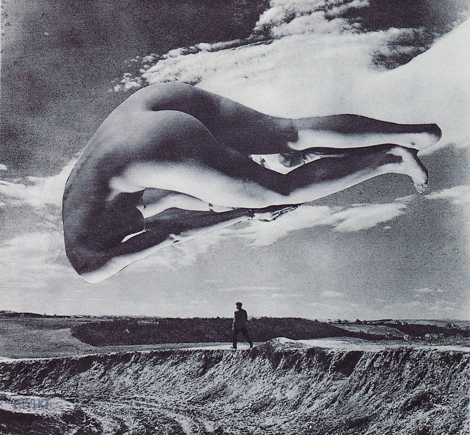 Karel Teige- Collage #365, 1949.(c) Nachlass Karel Teige