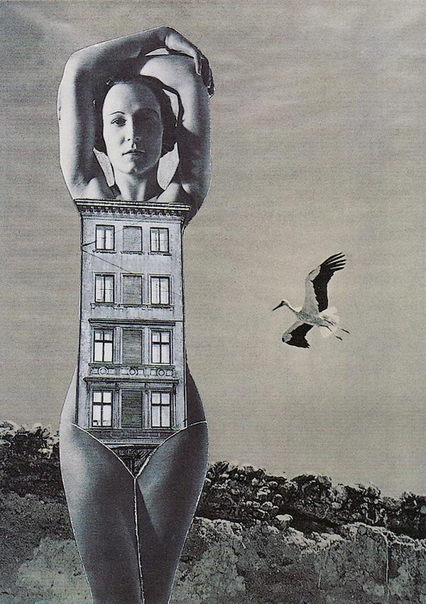 Karel Teige- Collage #366, 1949