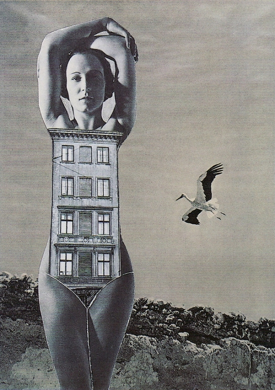 Karel Teige- Collage #366, 1949